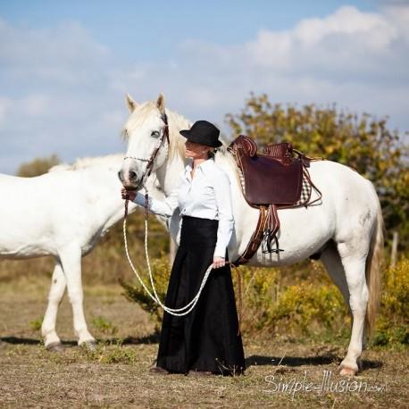 02eb033388e Jupe gardianne traditionnelle - Sellerie L Acampado