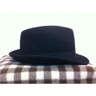 Chapeau feutre gardian noir